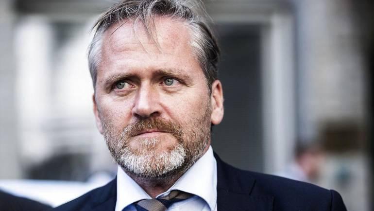 """Anders Samuelsen: """"Danmark bakker utvetydigt op i kampen mod Ruslands aggression."""""""