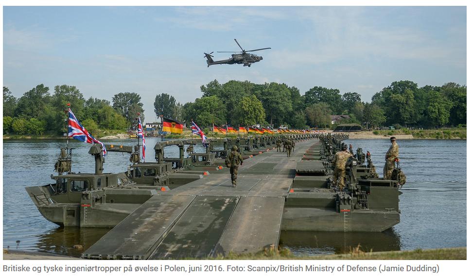 NATO viser faretruende stor mangel på logistiske evner