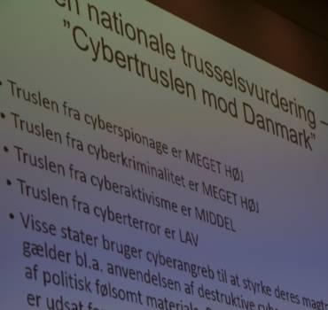 Folk og Sikkerhed Storstrømmens debatmøde om cybersikkerhed.