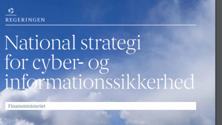 Regeringens præsenterer cyberstrategi