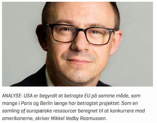 Vedby: For Trump er NATO et marked, ikke et fællesskab.