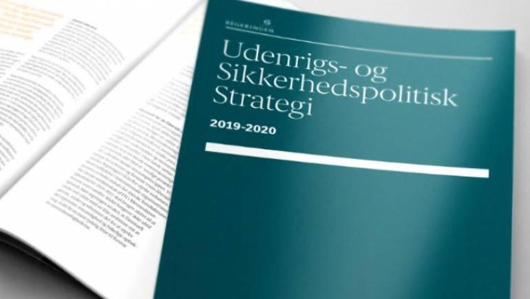 Danmarks nye udenrigs- og sikkerhedspolitiske strategi 2019-2020