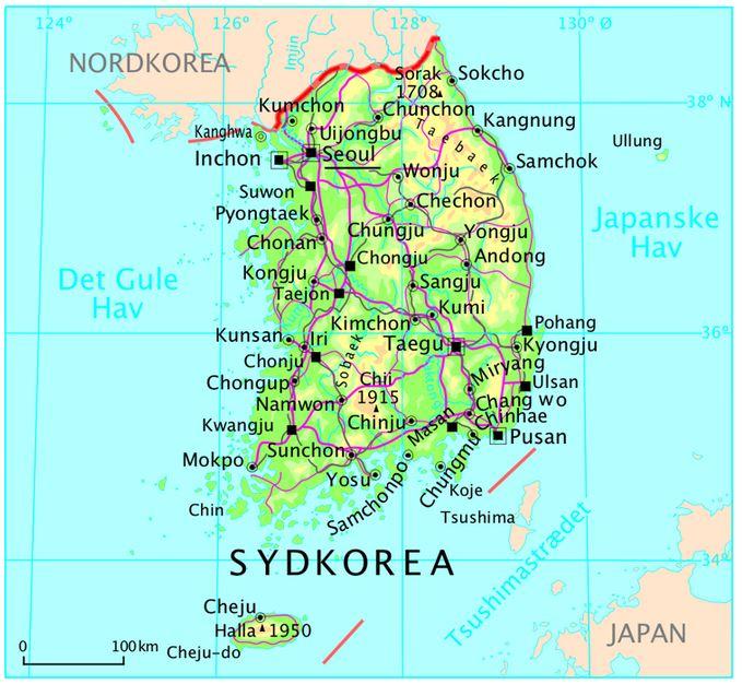 Danmark øger bidraget til United Nations Command i Sydkorea