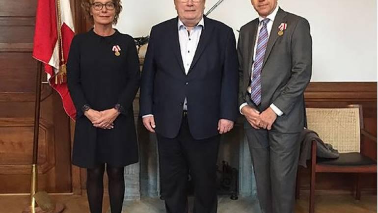 Ildsjæle modtager Forsvarsministerens Medalje for hjælp og støtte til soldater