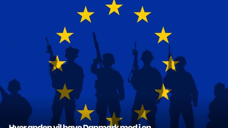 Skal Danmark afskaffe sit EU-forsvarsforbehold?