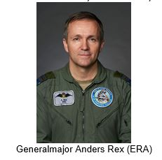 Foredrag med Generalmajor Anders Rex, Chef for Flyverkommandoen.
