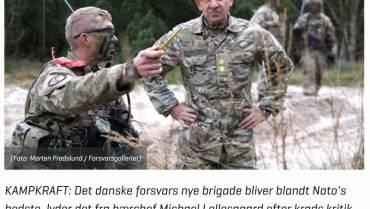 Altinget – Hærchefen lover kampkraft i ny brigade